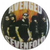 Avenged Sevenfold - 'Group' Button Badge